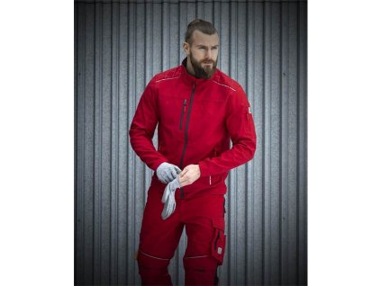 Softshellová bunda ARDON®VISION červená
