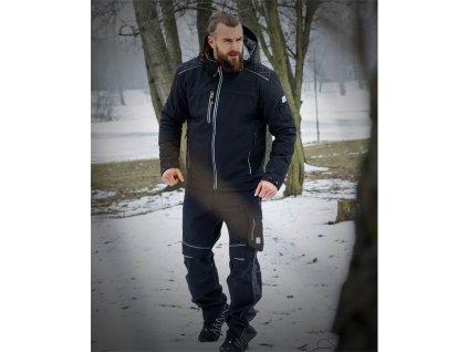 Zimní softshellová bunda ARDON®VISION černo-oranžová