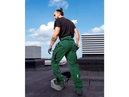 Kalhoty pas VISION 02 zelené, 194 cm (48-50)