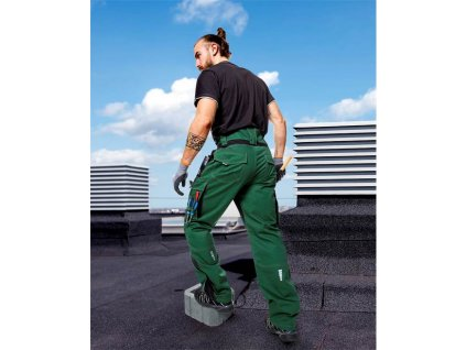 Kalhoty ARDON®VISION zelené zkrácené