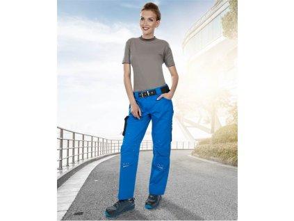 Dámské kalhoty pas 4TECH 02 modro-černé, 164-172