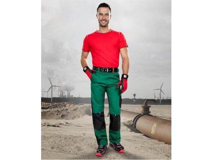 Kalhoty ARDON®PRE100 zeleno-černé – DOPRODEJ