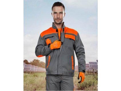 Blůza ARDON®2STRONG šedo-oranžová