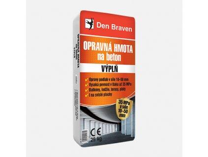 Den Braven - Opravná hmota na beton VÝPLŇ, pytel 25 kg