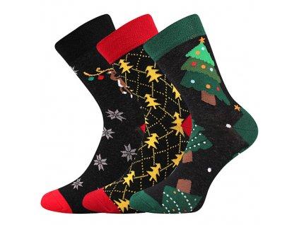 VOXX ponožky Vánoční mix a