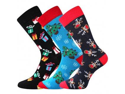 VOXX ponožky Vánoční mix c