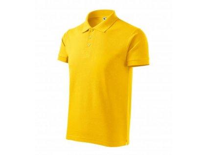 Cotton Heavy polokošile pánská žlutá