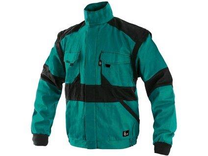 Blůza CXS LUXY HUGO, zimní, pánská, zeleno-černá, vel. 44-46