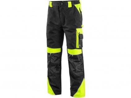 Kalhoty do pasu CXS SIRIUS BRIGHTON, černo-žlutá