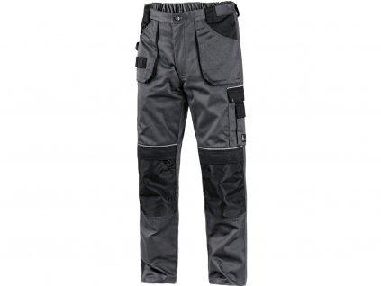 Kalhoty do pasu CXS ORION TEODOR, zimní, pánské, šedo-černé, vel. 44-46