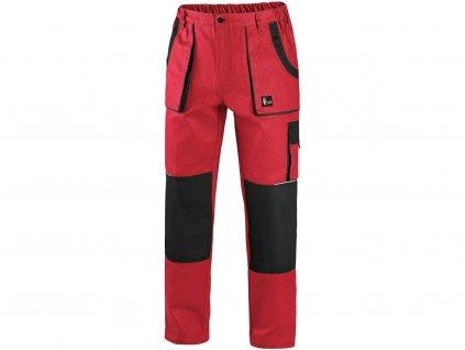 Kalhoty do pasu CXS LUXY JOSEF, pánské, červeno-černé