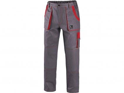 Kalhoty do pasu CXS LUXY JOSEF, pánské, šedo-červená