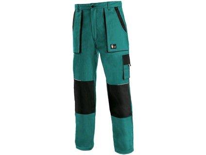 Kalhoty do pasu CXS LUXY JAKUB, zimní, pánské, zeleno-černé, vel. 44-46