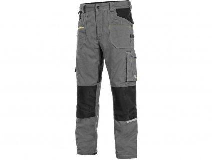 Kalhoty CXS STRETCH, pánské, šedo-černé