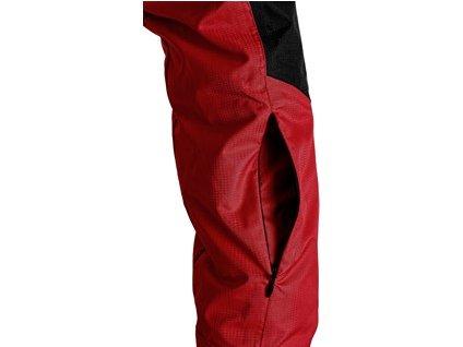 Bunda TACOMA, zimní, dámská, červeno-černá