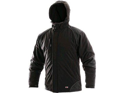Pánská zimní bunda CXS ALABAMA, černá, roz. S