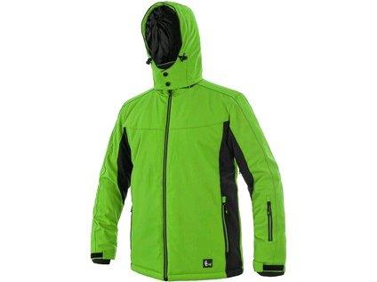 Bunda CXS VEGAS, zimní, pánská, zeleno-černá