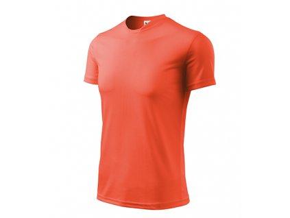 Fantasy tričko pánské neon orange