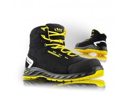 WISCONSIN bezpečnostní kotníková obuv, S3ESD