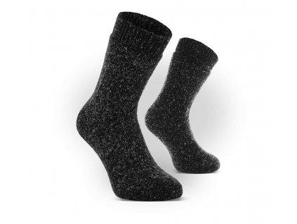 Zimní vlněné ponožky Velikost: 39-42