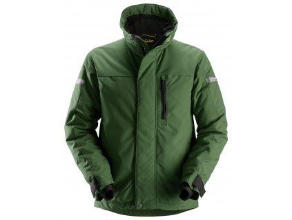 Bunda zateplená AllroundWork 37.5® zelená XS Snickers Workwear