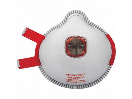 SPIROTEK VS2300V respirátor FFP3 s vent.