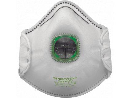 SPIROTEK VS2100V respirátor FFP1 s vent.