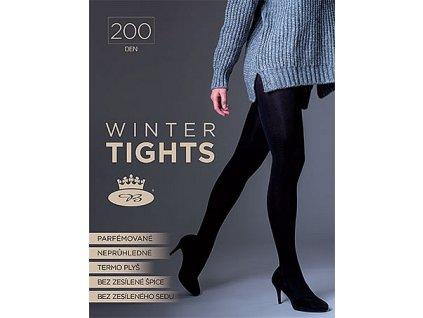 VOXX punčochové kalhoty WINTER tights 200 DEN nero