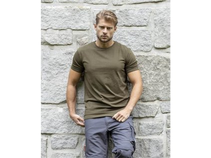 Tričko ARDON®TRENDY khaki