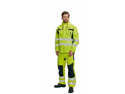 TICINO výstražná bunda žlutá (Velikost/varianta 3XL)