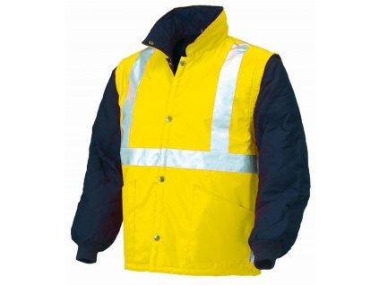 NAPOLI 04648N reflexní bunda žlutá-modrá (Velikost/varianta 3XL)