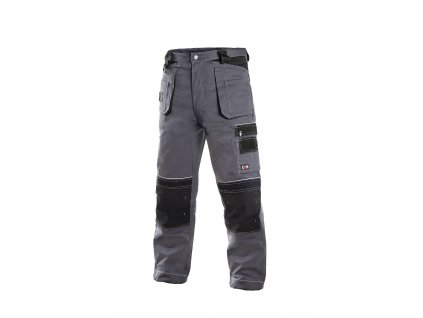 ORION TEODOR montérkové kalhoty do pasu šedo-černá (Velikost/varianta 64)