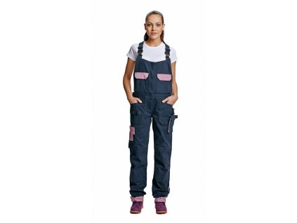 YOWIE montérkové kalhoty s laclem dámské tm.modrá (Velikost/varianta 48)
