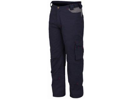 STRETCH pracovní kalhoty montérkové modré (Velikost/varianta 3XL)