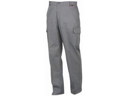 SUMMER pracovní kalhoty montérkové šedé (Velikost/varianta 2XL)