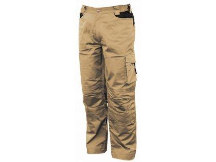STRETCH pracovní kalhoty montérkové béžové (Velikost/varianta 3XL)