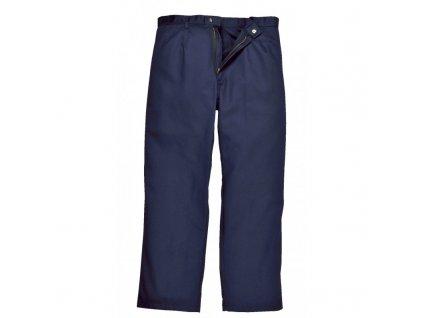 BIZWELD nehořlavé pracovní kalhoty do pasu navy (Velikost/varianta 5XL)