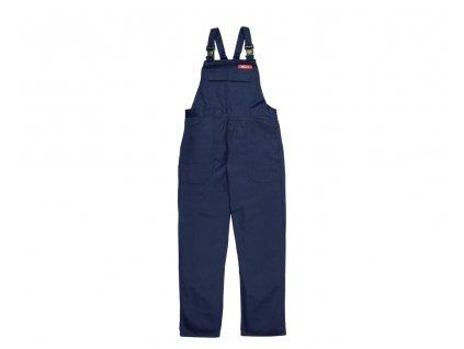 BIZWELD nehořlavé pracovní kalhoty s náprsenkou navy (Velikost/varianta S)
