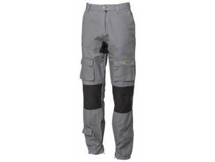STRETCH ON pracovní kalhoty monterkové do pasu šedé (Velikost/varianta 3XL)