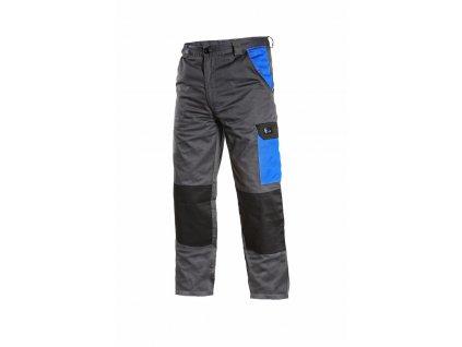 PHOENIX CEFEUS pracovní kalhoty do pasu šedo-modré (Velikost/varianta 64)
