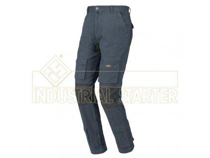 STRETCH ON pracovní kalhoty monterkové do pasu modré (Velikost/varianta 3XL)