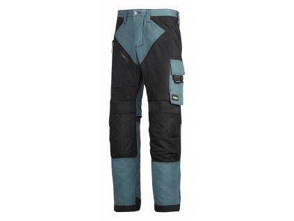 RUFFWORK pracovní kalhoty černo- petrolejové (Velikost/varianta 64)