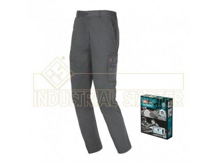 EASY STRETCH pracovní kalhoty šedé (Velikost/varianta 3XL)