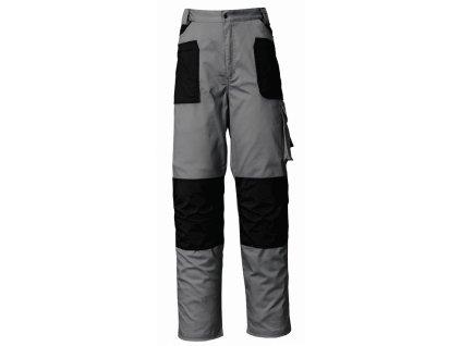 STRETCH kalhoty zimní šedo-černé (Velikost/varianta 3XL)