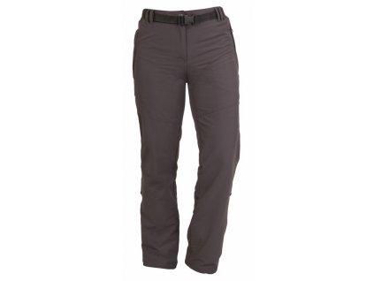 MISSISSIPPI dámské letní kalhoty do pasu šedé (Velikost/varianta 2XL)