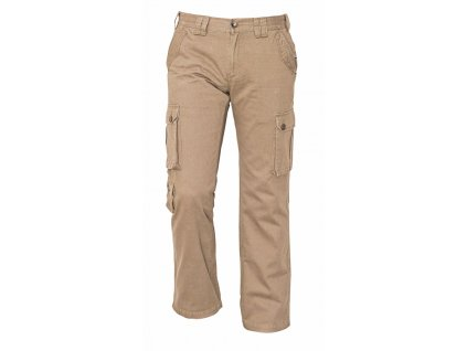 CHENA volnočasové kalhoty béžové (Velikost/varianta 3XL)