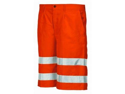 8434 kraťasy výstražné oranžové (Velikost/varianta 2XL)