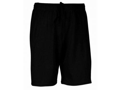 PROACT PA101 sportovní šortky černé (Velikost/varianta 3XL)