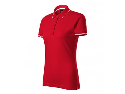 Perfection plain polokošile dámská formula red