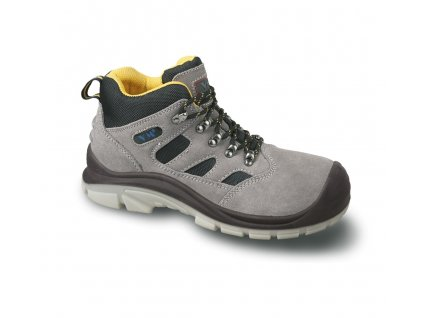 VM MADRID O1 pracovní kotníková obuv šedá (Velikost/varianta 48)